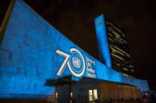 UN blue