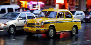 yellow taxis_kolkata